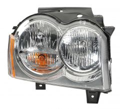 Quadratec Passenger Side Head Lamp Assembly for 05-07 Jeep Grand Cherokee WK 55022.0032