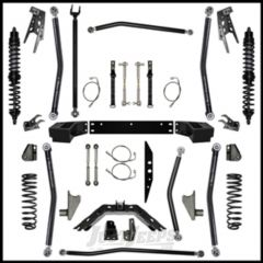 """Rock Krawler 3.5"""" X Factor Coil-Over Long Arm System w/ 6"""" Rear Stretch - Stage 1 Lift Kit With Coil Overs For 2007-18 Jeep Wrangler JK 2 Door Models JK35COMP-6S1"""