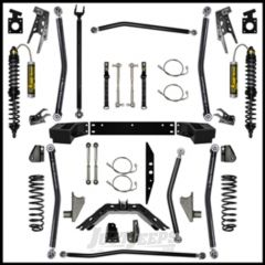 """Rock Krawler 3.5"""" X Factor Coil-Over Long Arm System w/ 6"""" Rear Stretch - Stage 2 Lift Kit With Coil Overs For 2007-18 Jeep Wrangler JK 2 Door Models JK35COMP-6S2"""