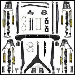 """Rock Krawler 4.5"""" Rock Racer Long Arm System Lift Kit For 2007-18 Jeep Wrangler JK Unlimited 4 Door Models JKRCR45-4"""