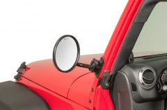 Quadratec Quick Release Mirror Movers with Round Head for 97-18 Jeep Wrangler TJ, Unlimited, Wrangler & Wrangler Unlimited JK