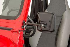 Quadratec Mirrors for 87-95 Wrangler YJ with Tube & Fabric Doors 13111.0420