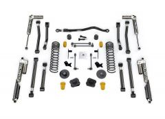 "Teraflex 2.5"" Alpine CT2 Suspension System & Falcon SP2 3.1 Piggyback For 2020+ Jeep Gladiator JT 4 Door Models 2022031"