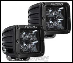 Rigid Industries D-Series PRO Midnight Edition LED Light Pair - Spot Pattern 202213BLK