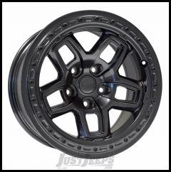 AEV Borah Wheels 17 x 8.5 Onyx Black Wheel For 2007-18 Jeep Wrangler JK 2 Door & Unlimited 4 Door 20402024AA