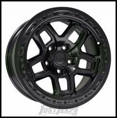 AEV Borah Wheels 17 x 8.5 Galaxy Black Wheel For 2007-18 Jeep Wrangler JK 2 Door & Unlimited 4 Door 20402028AA