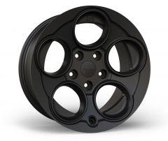 AEV Savegre II Wheel 17 x 8.5 Stain Black For 2020+ Jeep Gladiator JT & Wrangler JL 2 Door & Unlimited 4 Door Models 20403011AA