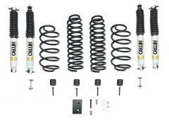 """Quadratec Maximum Duty 2.5"""" Coil Spring Suspension Lift Kit with Shocks for 97-06 Jeep Wrangler TJ & Unlimited"""