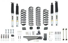 Quadratec Maximum Duty 3.5in Coil Spring Suspension Lift Kit with Shocks for 07-18 Jeep Wrangler Unlimited JK 4 Door