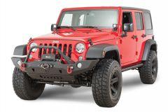 JCR Offroad Vanguard Front Bumper with Hoop for 07-18 Jeep Wrangler JK, JKU JKFV-T-PC