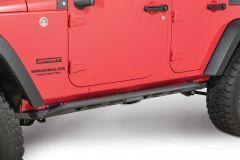 JCR Offroad Classic Rock Sliders for 07-18 Jeep Wrangler JK 2 Door JKSL-CL-2D-PC