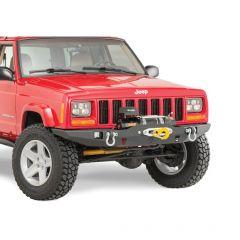 JCR Offroad Vanguard Front Winch Bumper for 84-01 Jeep Cherokee XJ XJFV-0-PC