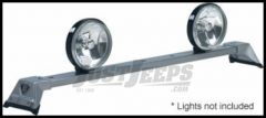 CARR Low Profile Light Bar XP4 Silver For 2005-10 Jeep Grand Cherokee WK Models 210504