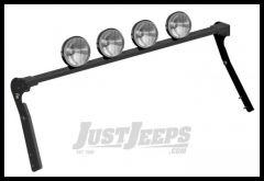 CARR XRS Rota Light Bar in Black Powder Coat For 1997-06 Jeep Wrangler TJ Models 210661
