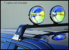 CARR M Profile Light Bar XP3 Black For 1984-10 Jeep Cherokee XJ & Grand Cherokee Models 210701