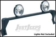 CARR XRS Rota Light Bar in Black Powder Coat For 1976-95 Jeep CJ Series & Wrangler YJ 210881