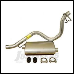 Omix-ADA Catback Exhaust For 1993-95 Jeep Wrangler YJ With 4 Cyl or 6 Cyl 17606.02
