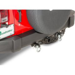 """VersaHitch with 1.5"""" Receiver D-Ring Mount & 3/4"""" D-Ring for 07-18 Jeep Wrangler JK, JKU 12015DRING-"""