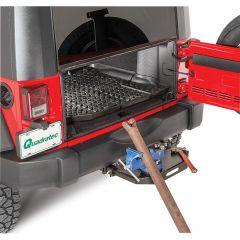 "VersaHitch 2"" Receiver Hitch with Wiring Kit, Jeep Logo Plug & Vise Mount for 07-18 Jeep Wrangler JK, JKU 12015VISE-"