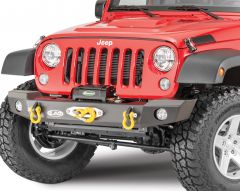 LoD Offroad Offroad Signature Series Mid-Width Front Winch Bumper (PowerPlant Winch only) for 07-18 Jeep Wrangler JK JFB0745