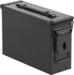 Quadratec 7.62mm Black Locking Ammo Storage Can 44036.0013