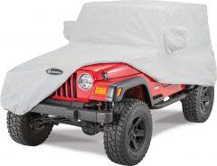 Quadratec Softbond 3-Layer Car Cover for 76-06 Jeep CJ-7, Wrangler YJ & TJ 11081.2000