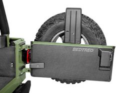 Bedrug BedTred Premium Molded Tailgate Mat for 97-06 Jeep Wrangler TJ & Wrangler Unlimited BTTJTG