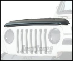 Auto Ventshade Bugflector II in Smoke For 1987-06 Jeep Wrangler YJ & TJ Models 24700