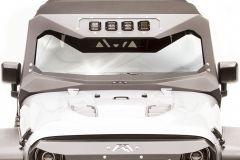Fab Fours ViCowl Light Insert for 07-18 Jeep Wrangler JK, JKU JK3021-1