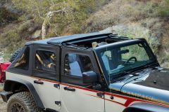 Rampage Products TrailView Soft Top for 07-18 Jeep Wrangler JKU 4 Door 139835