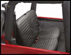 BESTOP Rear Seat Covers In Black Diamond For 2003-06 Wrangler TJ/TLJ Unlimited Models 29229-35