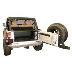 Tuffy Products Security Tailgate Enclosure In Black Fixed Steel For 2011-18 Jeep Wrangler JK 2 Door & Unlimited 4 Door Models 299-01