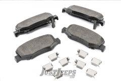 MOPAR Magneti Merelli Rear Disc Brake Pads For 2007-18 Jeep Wrangler JK 2 Door & Unlimited 4 Door Models 2AMV2776AA