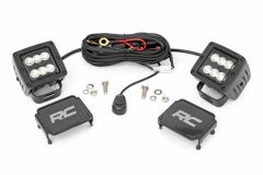 Rough Country 2-INCH Square Cree LED Lights 70133BL