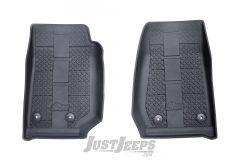 AEV Front Floor Liners For 2014-18 Jeep Wrangler JK 2 Door & Unlimited 4 Door Models 30502005AA