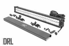 "Rough Country 30"" Cree LED Light Bar (Dual Row) (Chrome Series) 70930D"