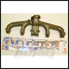 Omix-ADA Exhaust Manifold Kit For 1981-90 Jeep CJ Series, Wrangler YJ & Full Size With 4.2L With Gasket 17622.06