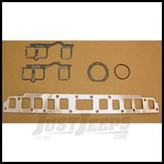Omix-ADA Exhaust & Intake Manifold Gasket Set For 1981-90 Jeep CJ Series, Wrangler YJ & Full Size With 4.2L 17451.04