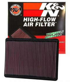 K&N Replacement Air Filter For 2002-07 Jeep Liberty KJ Models 33-2233