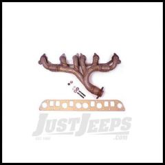 Omix-ADA Exhaust Manifold Kit For 1991-99 Jeep Wrangler YJ, TJ & Cherokee XJ & 1993-98 Grand Cherokee With 4.0L With Gasket 17622.08