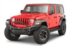 Go Rhino Rockline Winch Ready Front Bumper with Overrider for 07-20+ Jeep Wrangler JL, JK & Gladiator JT 331201T