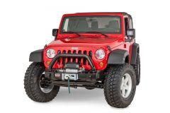 ARB Stubby Bar Front Bumper In Textured Black For 2007-18 Jeep Wrangler JK 2 Door & Unlimited 4 Door Models 3450430