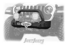 ARB Classic Stubby Front Bumper For 2018+ Jeep Gladiator JT & Wrangler JL 2 Door & Unlimited 4 Door Models 3450450
