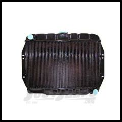 Omix-ADA Radiator 2-Core For 72-86 Jeep Cj's with 5.0/5.7L GM Engine Conversion 17101.15