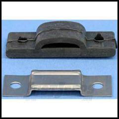 Omix-ADA Exhaust Insulator Bracket For Universal Application (Bracket & Rubber) 17620.04