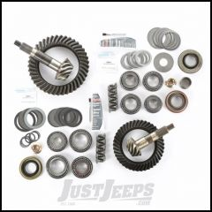 Alloy USA 4.10 Ratio Ring & Pinion Set With Master Install Kit For Dana 30 Front & Dana 44 Rear For 1997-06 Jeep Wrangler TJ & TJ Unlimited Models 360028