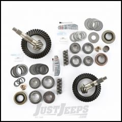 Alloy USA 4.56 Ratio Ring & Pinion Set With Master Install Kit For Dana 30 Front & Dana 44 Rear For 1997-06 Jeep Wrangler TJ & TJ Unlimited Models 360029