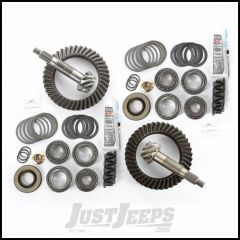 Alloy USA 5.13 Ratio Ring & Pinion Set With Master Install Kit For Dana 44 Front & Dana 44 Rear For 1997-06 Jeep Wrangler TJ & TJ Unlimited Rubicon Models 360035
