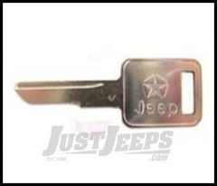 Omix-ADA Replacement Blank Key For 1970-84 Jeep CJ 17250.50