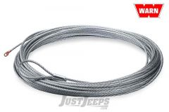 WARN Replacement Galvanized Wire Winch Rope 100', 5/16 (30m, 8mm) For WARN M8000, XD9000 & 9.5xp Winches 38314